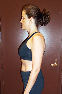 Push Fitness client Melanie, after photo